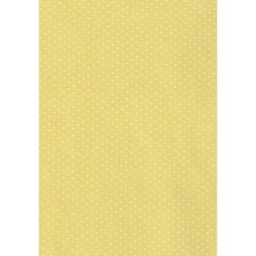 Tecido P304 -  Amarelo e Branco -  Termocolante - Fast Patch