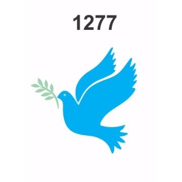 1277 - Molde PVC – Pomba da Paz