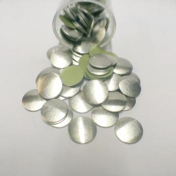 Metal 8mm – Prata Fosco  - 100 uni
