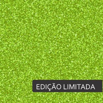 Glitter Verde Claro Termodinamico - Edição Limitada