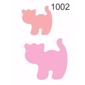1002 – Molde PVC –  Gatos