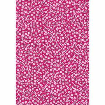Tecido - E526 - Pink Hawaii - Termodinamico Fast Patch