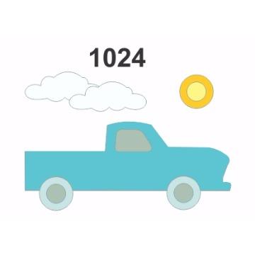 1024 – Molde PVC –  Carro