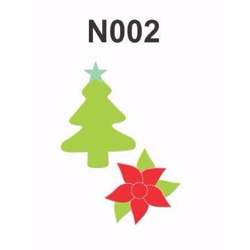 N002 - Molde PVC – Pinheiro e Flor