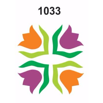 1033 – Molde PVC –  Flor