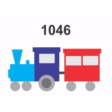 1046 – Molde PVC –  Trem
