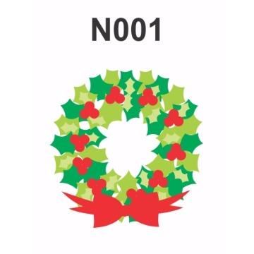 N001 - Molde PVC – Guirlanda