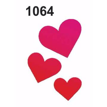 1064 – Molde PVC –  Corações