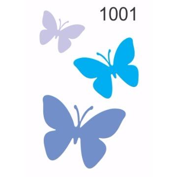 1001 – Molde PVC –  Borboleta