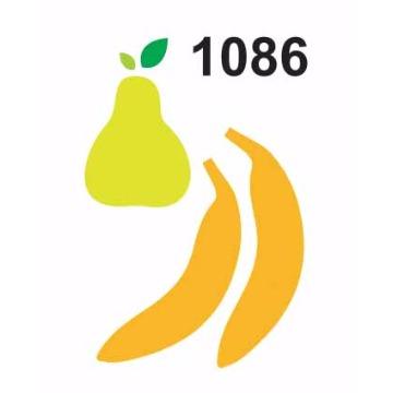 1086 - Molde PVC - Pêra e Banana