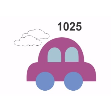 1025 – Molde PVC –  Carro
