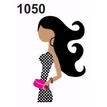 1050 – Molde PVC –  Mulher