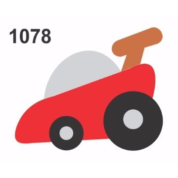1078 - Molde PVC - Carrinho