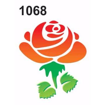 1068– Molde PVC –  Flor