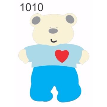 1010 – Molde PVC –  Urso 1