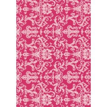 Tecido -  E488 - Arabian Rosa - Termocolante Fast Patch