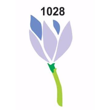 1028– Molde PVC –  Flor