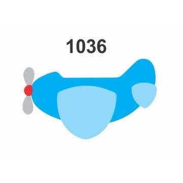 1036 – Molde PVC –  Avião