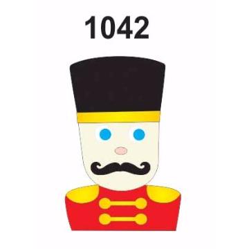 1042 – Molde PVC –  Soldado