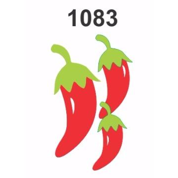 1083 - Molde PVC - Pimenta