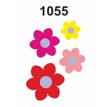 1055 – Molde PVC –  Flores