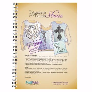 Apostilado de papel para transferência - Strass Vol. 1