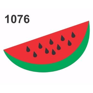 1076 - Molde PVC - Melancia