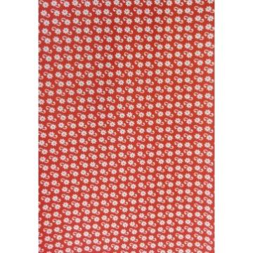 Tecido E434 - Vermelho Gracinha -  Termocolante - Fast Patch