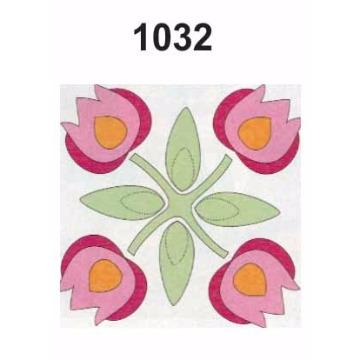 1032 – Molde PVC –  Flor