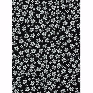 Tecido – E514 - Hawaii Preto - Termodinamico Fast Patch