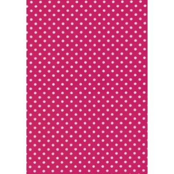 Tecido P302 - Pink e Branco - Termocolante - Fast Patch