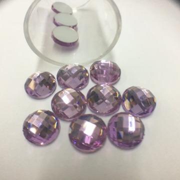 Cristal 8mm – Lilás Claro  - 12 uni