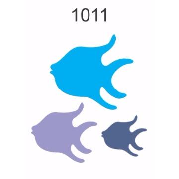 1011 – Molde PVC –  Peixes