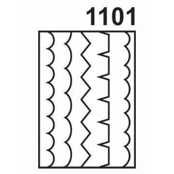 1101 - Molde PVC - Barrado