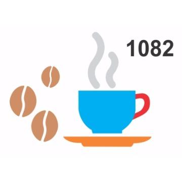 1082 - Molde PVC - Xícara café