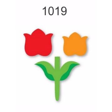 1019 – Molde PVC –  Flor