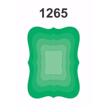 1265 - Molde PVC – Geométrico
