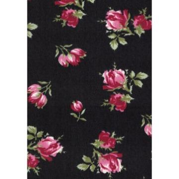 Tecido -  E489 - Vestido Floral - Termodinamico Fast Patch