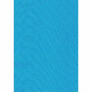 Tecido P315 - Azul Cian e Branco - Termodinamico - Fast Patch
