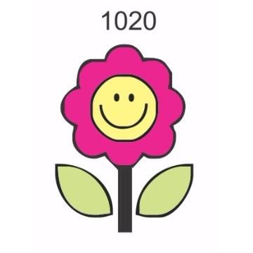 1020 – Molde PVC – Flor