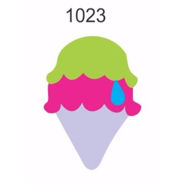 1023– Molde PVC –  Sorvete